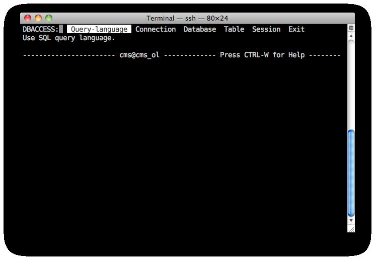 avaya dwalin ru » Tutorial: Using Informix tools to access